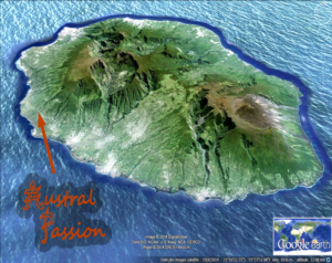 Reunion Google Earth location Austral Passion