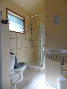 Salle d'eau bungalow Choka