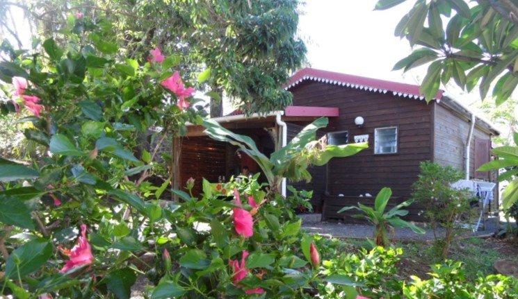 Location meublée Bungalow letchi Beau jardin