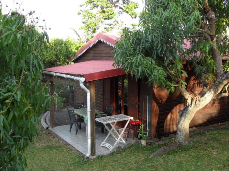 Location meublée Terrasse bungalow mangue