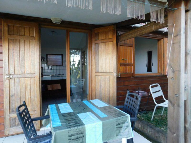 Varangue-Terrasse bungalow Choka