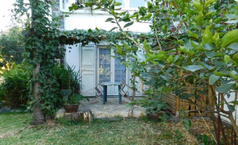 Terrasse pour la grande chambre de l'appartement Carambole